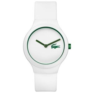 Lacoste Unisex Goa Green Silicone Strap Watch